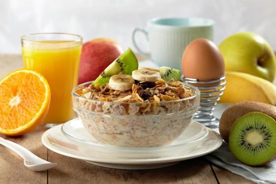 Bữa ăn sáng cho người bệnh tiểu đường