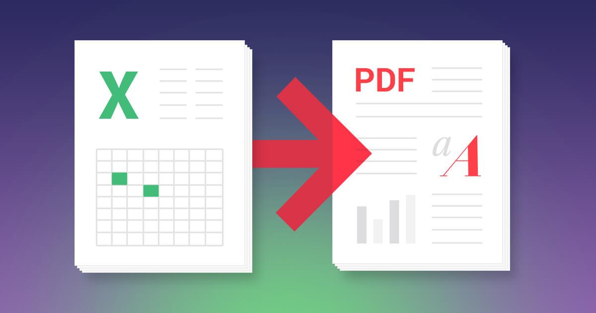 Cách chuyển file excel sang pdf đơn giản không cần phần mềm