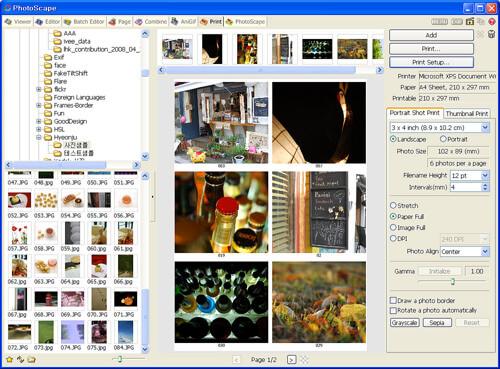 Chỉnh sửa ảnh đơn giản và nhanh chóng với Photoscape