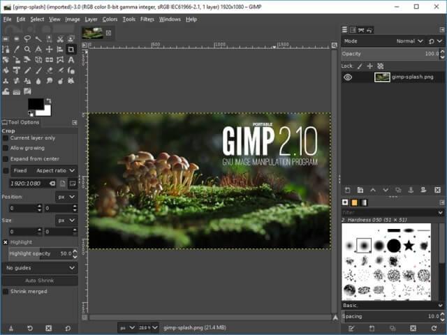 Chỉnh sửa ảnh trên máy tính chuyên nghiệp với GIMP