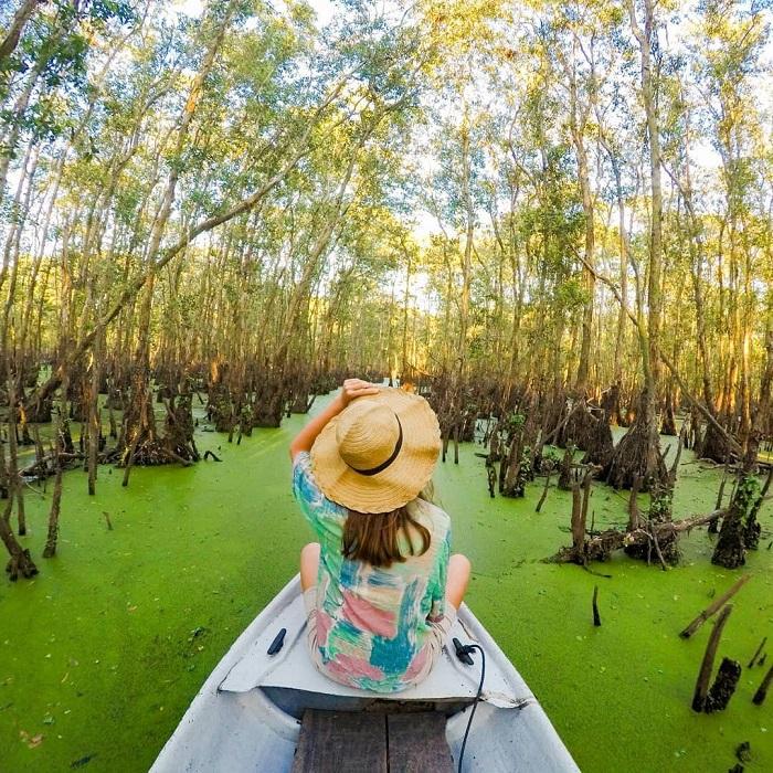 Du ngoạn tại khu du lịch sinh thái miền tây rừng Tràm Sư
