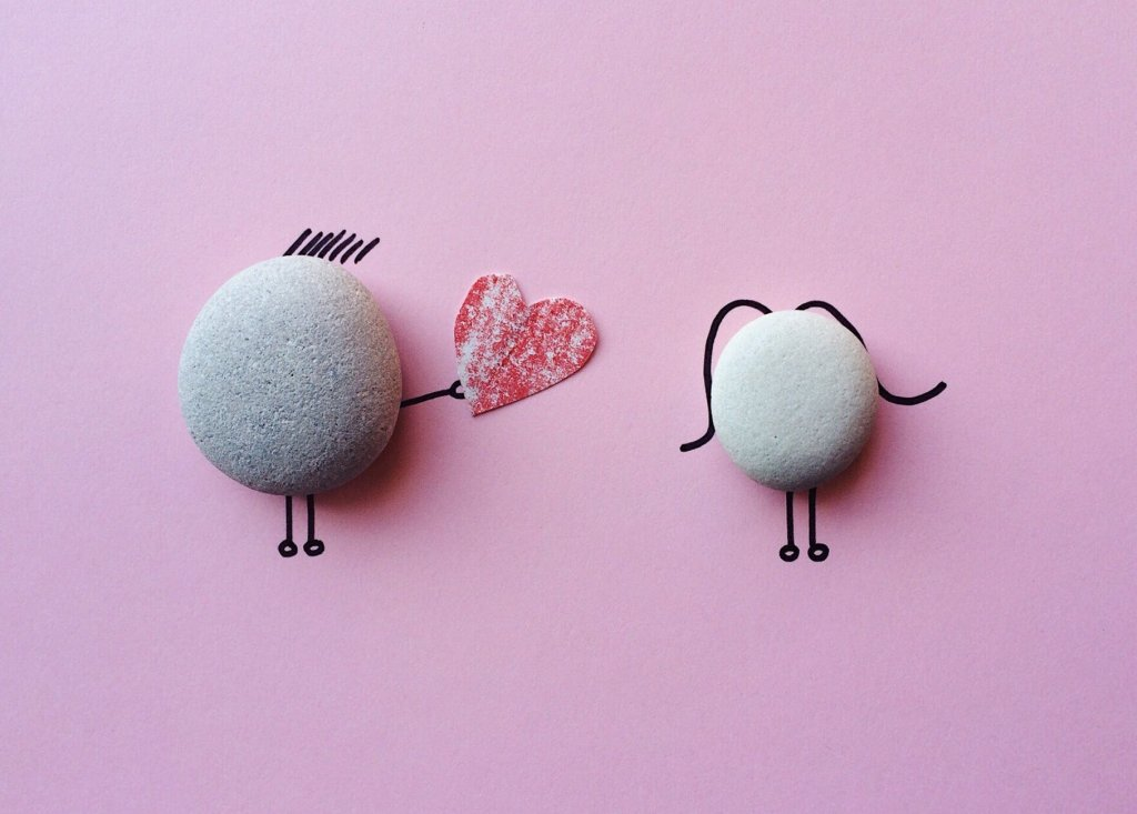 Hình ảnh yêu thương màu hồng dễ thương dành cho các cô gái