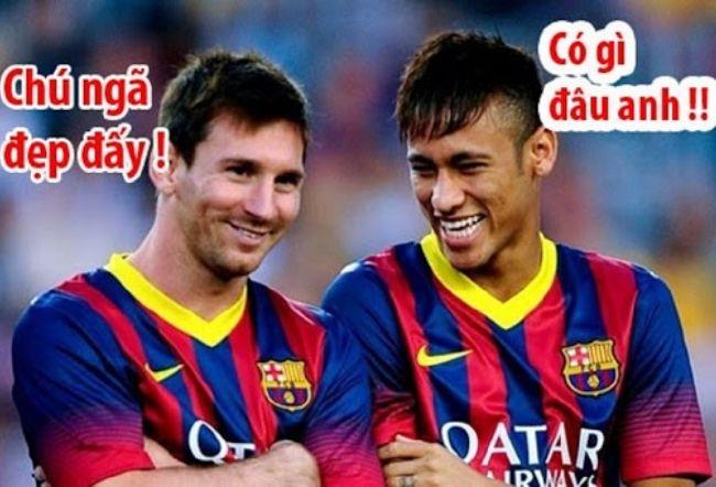 Hình anh vui nhon nhat cua Messi
