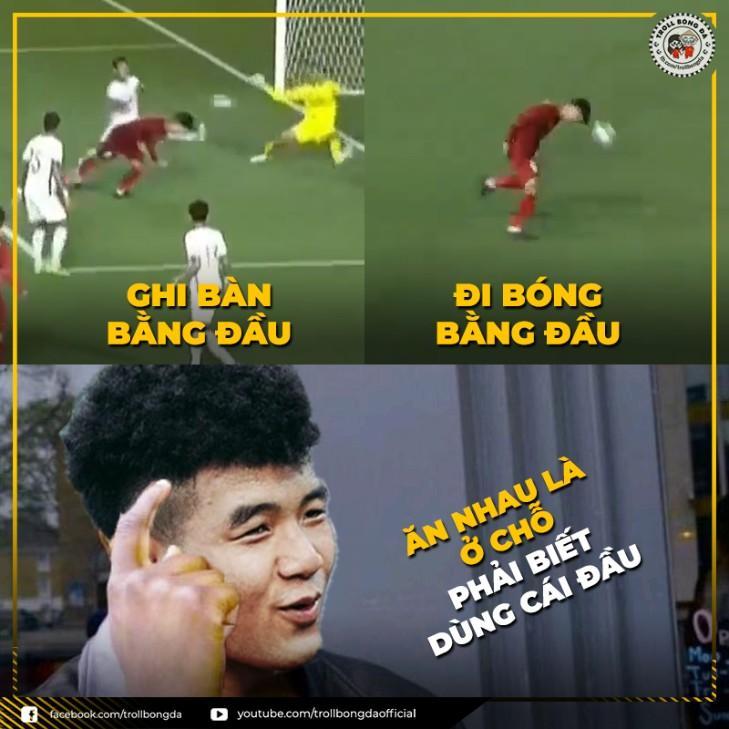 Những ảnh chế hay của bóng đá Việt Nam
