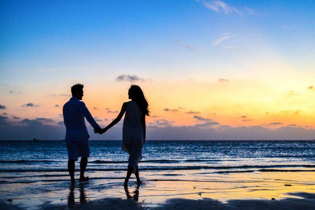 Những bức hình tình yêu đẹp tại bãi biển
