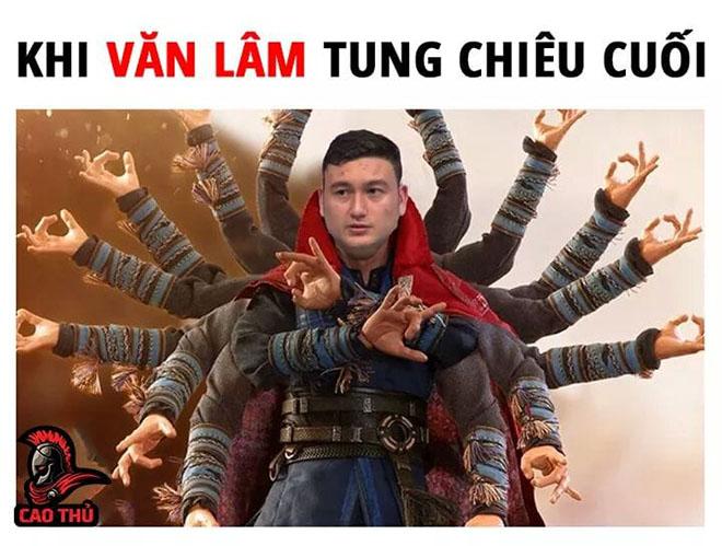 Những hình ảnh vui nhộn bá đạo của cầu thủ Văn Lâm