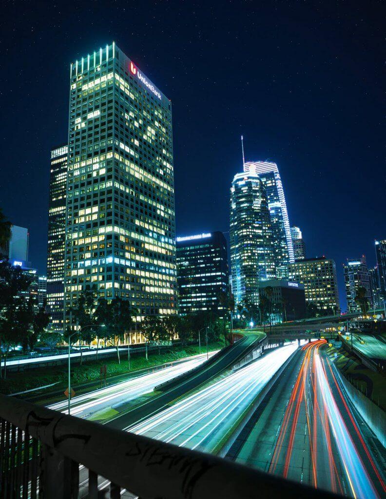 Những hình nền điện thoại đẹp tả thành phố về đêm