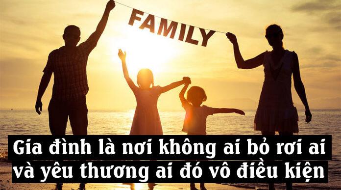 Những lời hay ý đẹp về gia đình mới nhất 2020