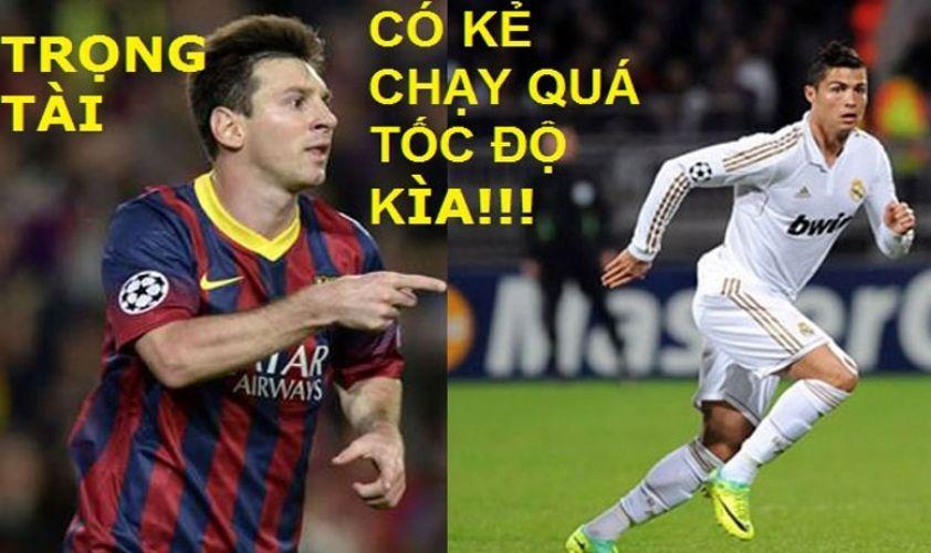 Những hình ảnh hài hước nhất thế giới trong lĩnh vực bóng đá