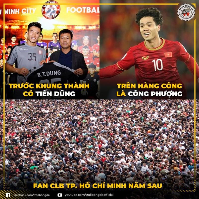 Tổng hợp những bức ảnh vui nhộn về bóng đá Việt Nam