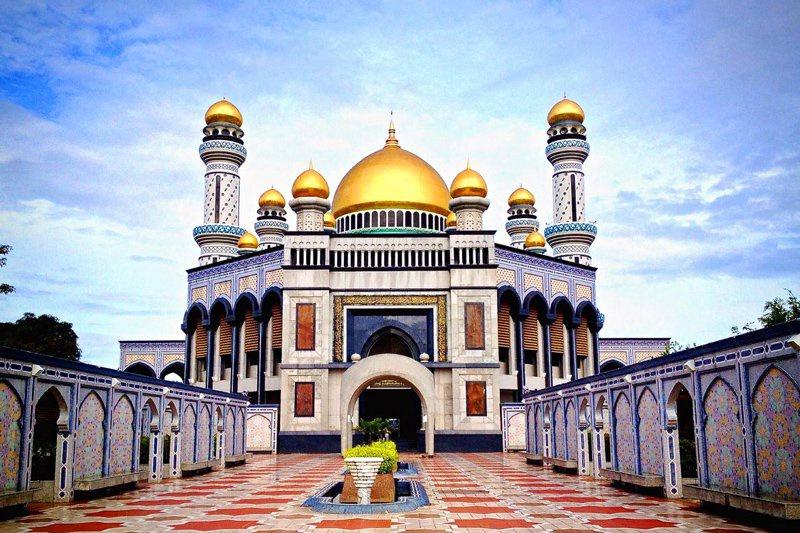 Thánh đường Jame Assr Hassanil Bolikah Mosque tại đất nước Brunei