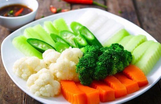 Thực đơn giảm cân ngày thứ năm
