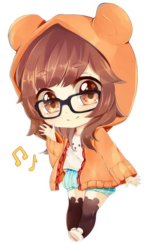 Ảnh chibi siêu cute dành cho các tín đồ Anime