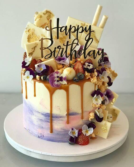 Các mẫu bánh sinh nhật ngon miệng nhìn là thèm