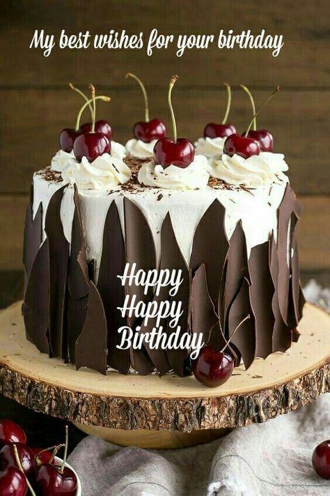 Hình bánh kem sinh nhật cùng lời chúc ý nghĩa