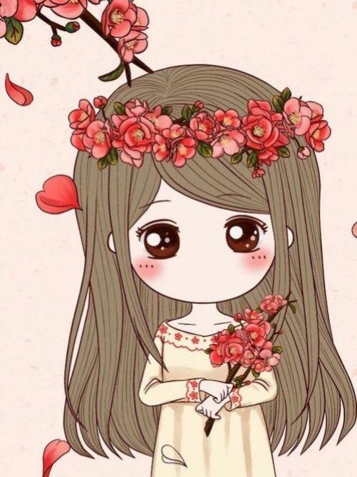 Hình ảnh anime dễ thương nhất trong ngày tết