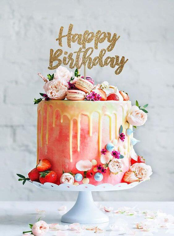 Mẫu bánh sinh nhật ngon miệng