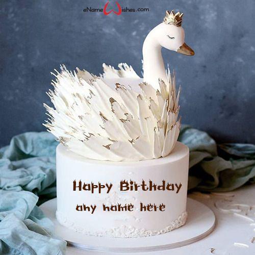 Những chiếc bánh sinh nhật đẹp nhất 2020 hình con thiên nga