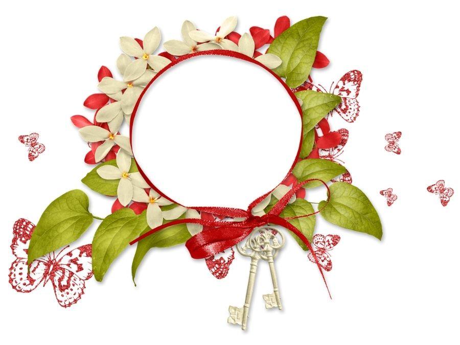 Ghép ảnh đẹp nhất có vòng hoa