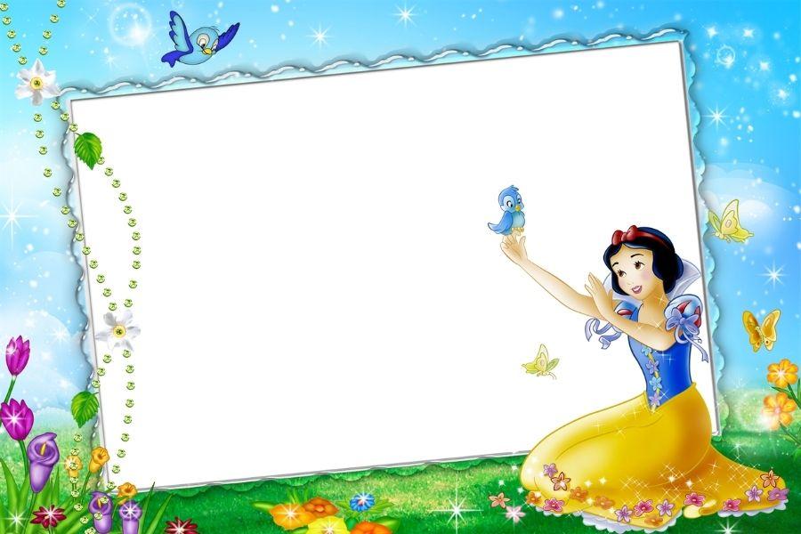 Khung ảnh photoshop hình công chúa