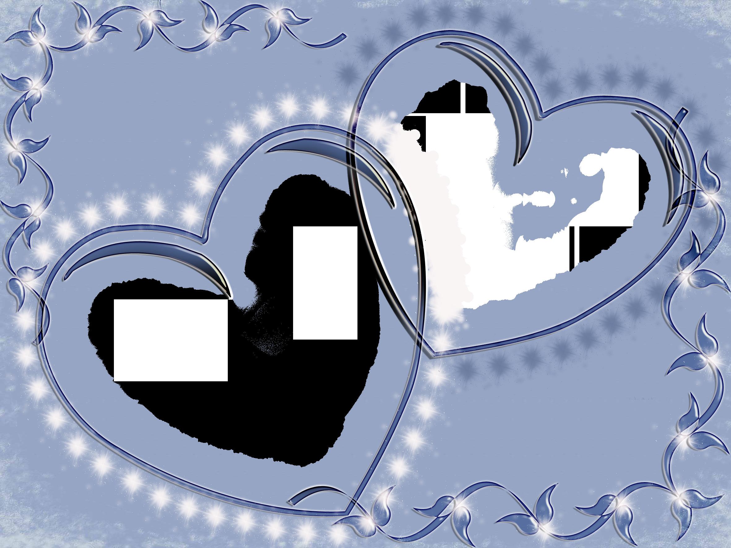 Trái tim là khung ảnh cưới đẹp nhất
