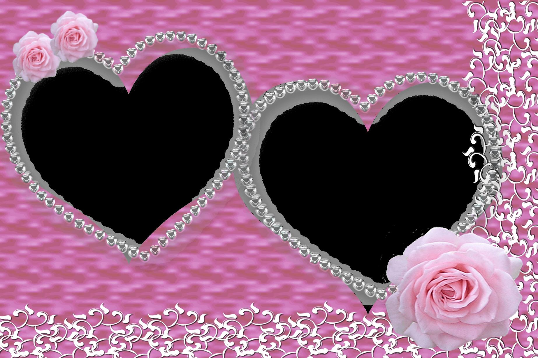 Trang trí khung ảnh đẹp trái tim