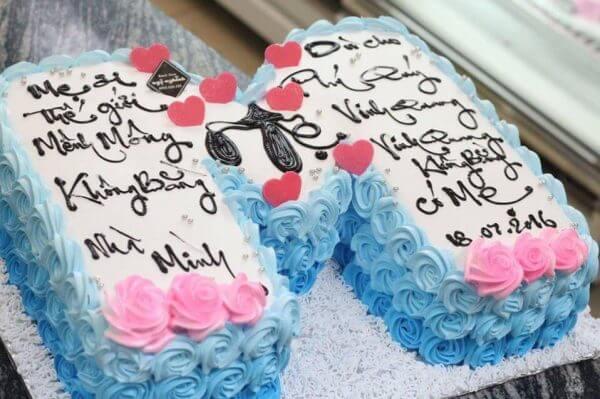 Ảnh bánh kem chúc mừng sinh nhật mẹ