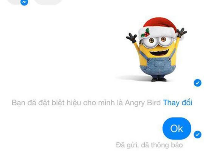 Cách đặt biệt hiệu Facebook trong messenger thành công