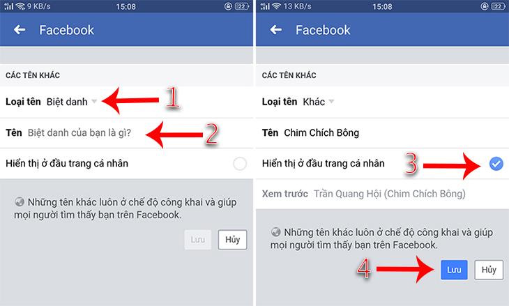 Cách đặt tên biệt danh trên facebook đã thành công với các bước trên