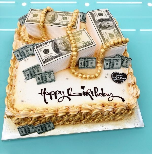 Hình bánh sinh nhật đẹp độc tặng sếp