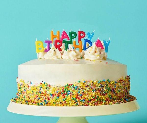 Hình sinh nhật vui vẻ cùng với bánh kem đẹp