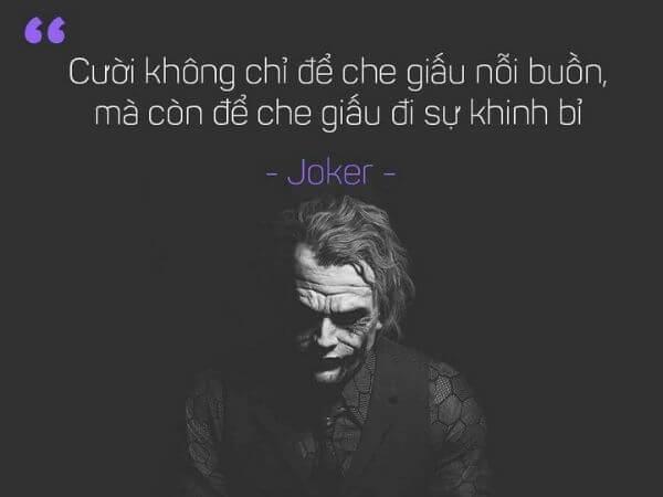 Joker câu nói bất hữu