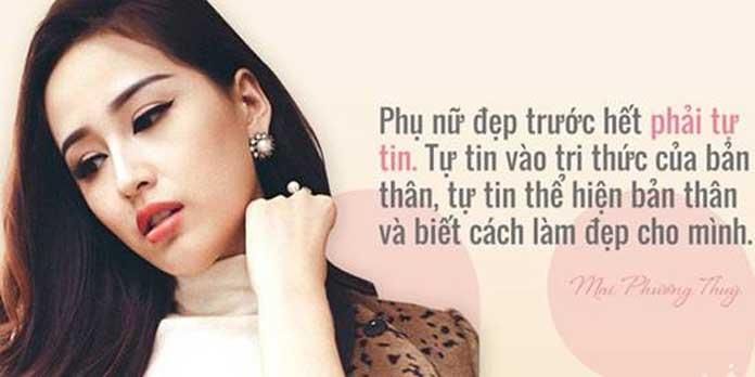 Những câu nói thật hay về phụ nữ đẹp