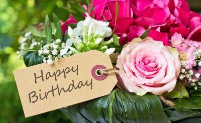 [Trọn bộ] 99+ Ảnh hoa chúc mừng sinh nhật kèm theo lời chúc ý nghĩa