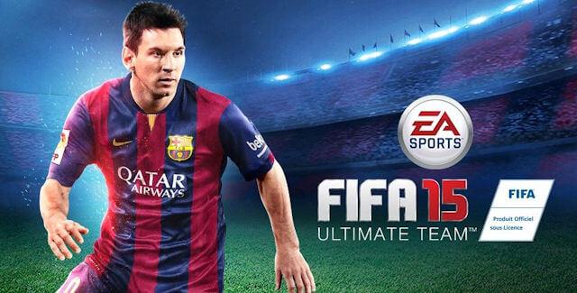 FIFA 15 Ultimate Team game đá bóng online trên điện thoại