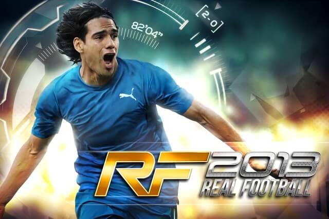 Real Football 2013 game đá bóng trên điện thoại