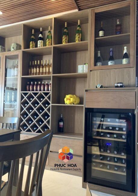 Bảo quản rượu vang ở độ ẩm trên 50%