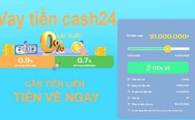 Cùng Bestbank vay tiền Cash24