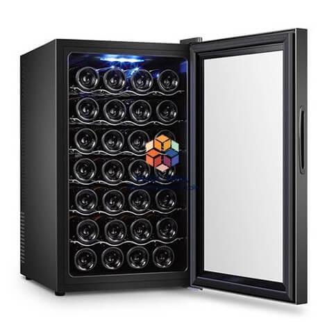 Nên chọn loại tủ bảo quản rượu vang nào
