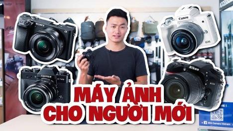 Các dòng máy ảnh giá cả hợp lý cho photographer mới vào nghề