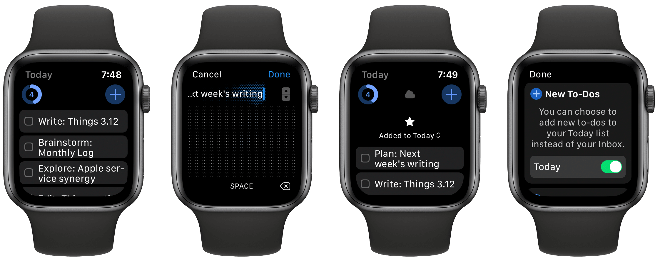 Những công cụ có sẵn trong Apple Watch S6