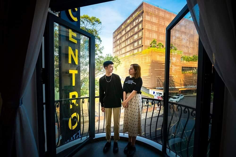 View nhìn từ khách sạn Centro Hotel