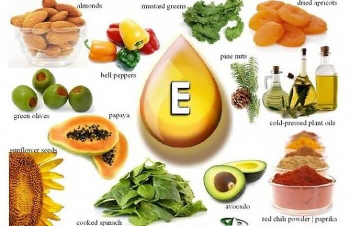 Ăn nhiều thực phẩm giàu vitamin E sẽ giúp các chị em giảm triệu chứng tiền kinh nguyệt