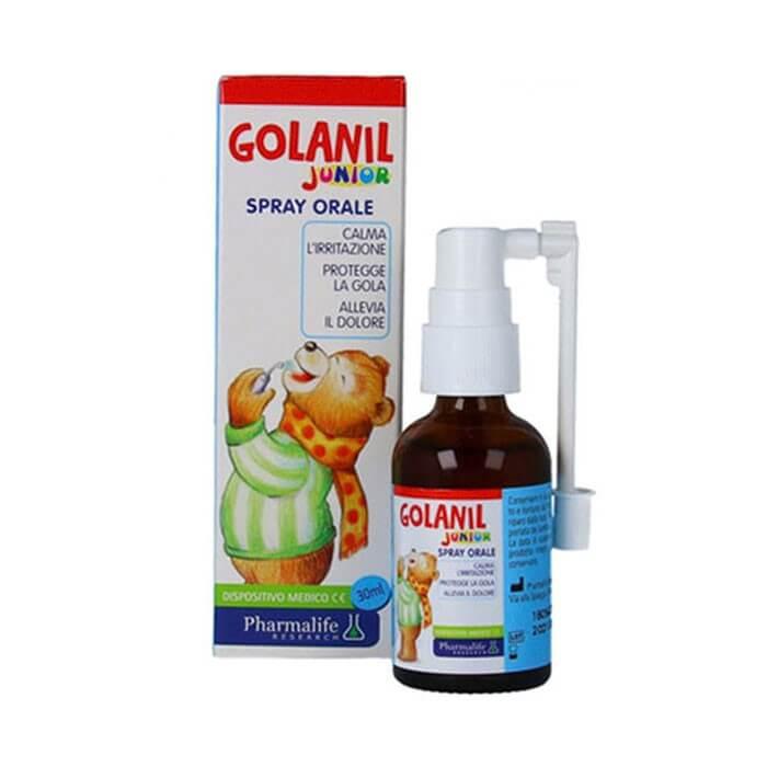 Ưu điểm vượt trội của xịt họng Golanil so với dòng sản phẩm